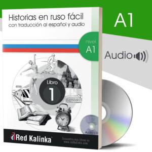 Historias rusas con audio: Nivel A1 Libro 1 (papel)