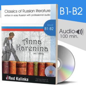 Anna Karenina - Classics in easy Russian (paper)