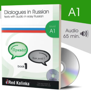 Dialogues in easy Russian + audio: Level A1 (paper)