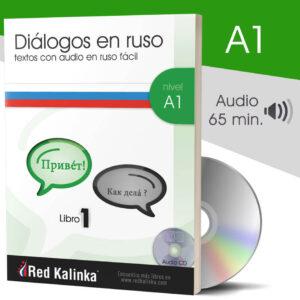 Diálogos en ruso fácil + audio: Nivel A1 (papel)