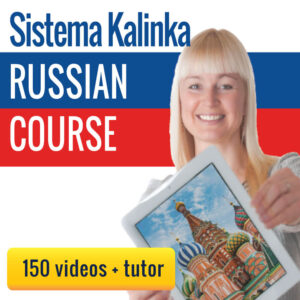 Learn Russian for 1 euro/day: Course with 150 videos + tutor